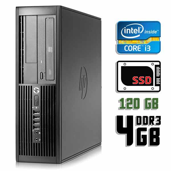 Компьютер б/у HP Compaq Pro 4300 SFF / Core i3 3220 / 4Gb ОЗУ DDR3 / 120Gb SSD