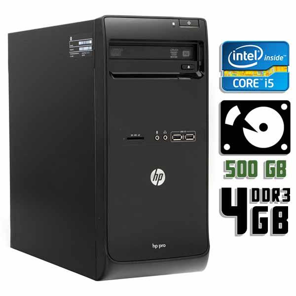 Компьютер б/у HP Pro 3500 - Core i5 3470 / 4Gb ОЗУ DDR3 / 500Gb HDD