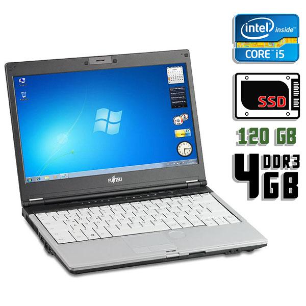 Ноутбук б/у 13,3″ Fujitsu Lifebook S760 - Core i5 520M / 4Gb ОЗУ DDR3 / 120Gb SSD