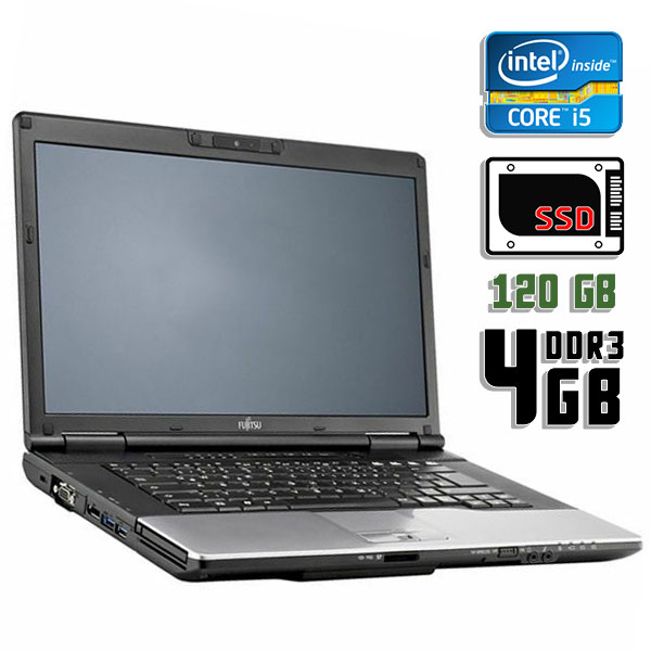 Ноутбук б/у 14″ Fujitsu Lifebook S782 - Core i5 3210M / 4Gb ОЗУ DDR3 / SSD 120Gb