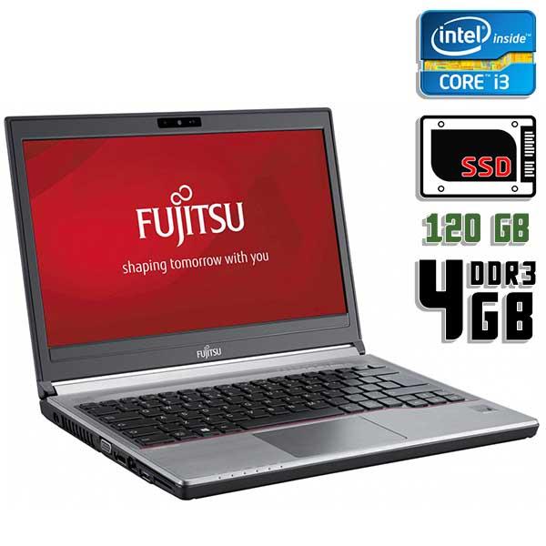 Ноутбук б/у 13,3″ Fujitsu LifeBook E734 - Core i3 4100M / 4Gb ОЗУ DDR3 / SSD 120Gb / камера