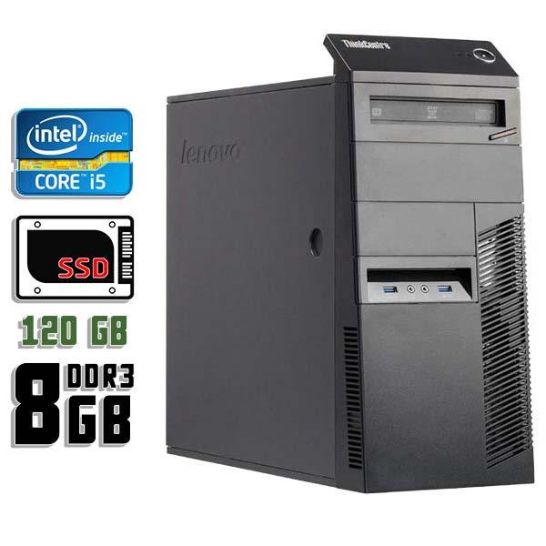 Компьютер б/у Lenovo M83 - Core i5 4570 / 8Gb ОЗУ DDR3 / 120Gb SSD