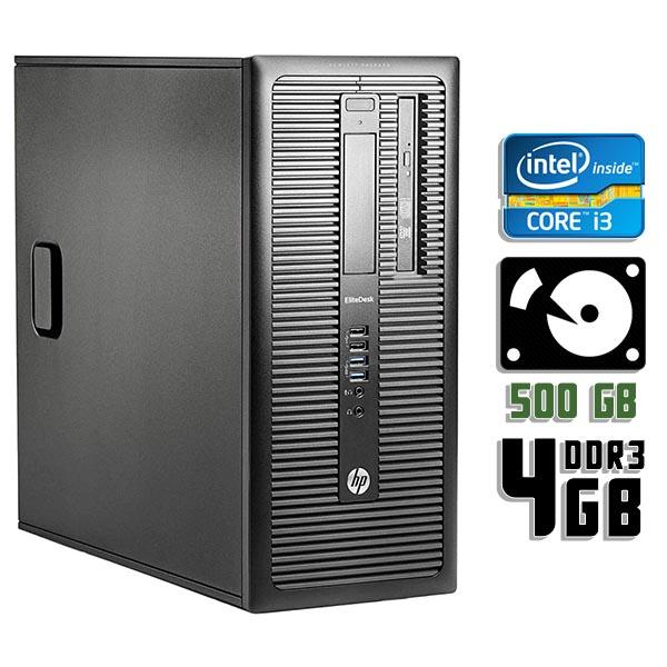 Компьютер б/у HP ProDesk 600 G1 - Core i3 4160 / 4Gb ОЗУ DDR3 / 500Gb HDD