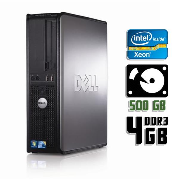 Компьютер б/у DELL OptiPlex 380SFF slim / 4-ядерный / 4Gb ОЗУ DDR3 / 500Gb HDD