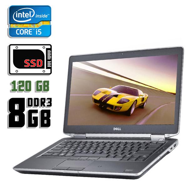 Ноутбук б/у 14″ Dell Latitude E6430 - Core i5 3340M / 8Gb ОЗУ DDR3 / 120Gb SSD
