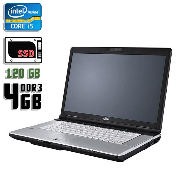 Ноутбук б/у 15,6″ Fujitsu LifeBook E751 - Core i5 2520M / 4Gb ОЗУ DDR3 / SSD 120Gb / камера