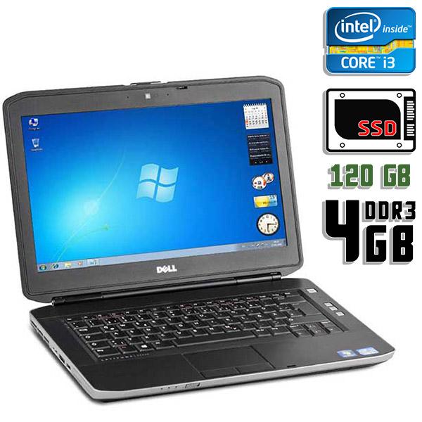 Ноутбук б/у 14″ Dell Latitude E5430 - Core i3 3110M / 4Gb ОЗУ DDR3 / 120Gb SSD / камера