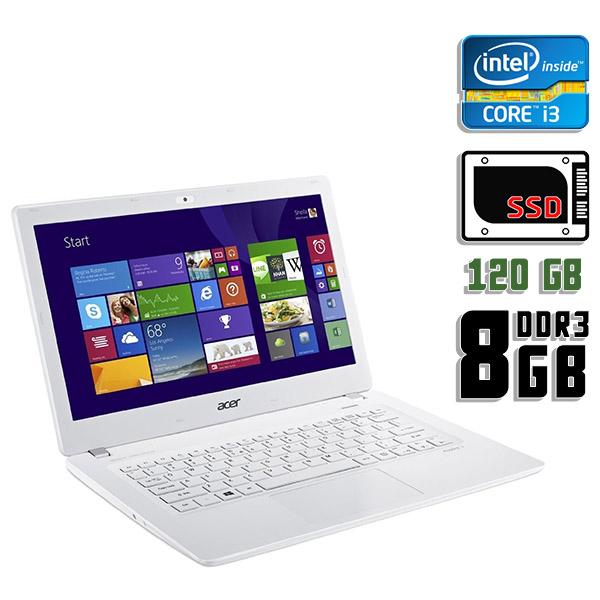 Ноутбук б/у 13,3″ Acer Aspire V3-371-33N1 - Core i3 4005U / 8Gb ОЗУ DDR3 / SSD 120Gb / камера