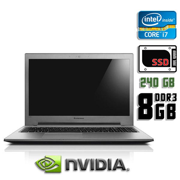 Игровой ноутбук б/у 15.6″ Lenovo IdeaPad Z500 / Core i7 3632QM / 8Gb DDR3 / GeForce GT 645M / 240Gb SSD
