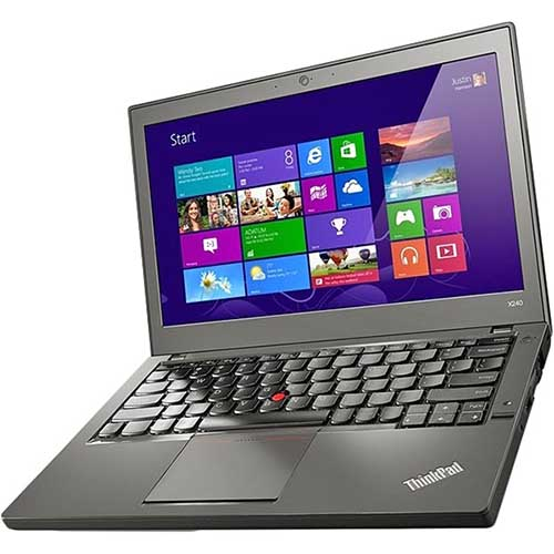 Ноутбук б/у 12,5″ Lenovo ThinkPad X240 - Core i3 4010U / 4Gb ОЗУ DDR3 / 120Gb SSD / камера