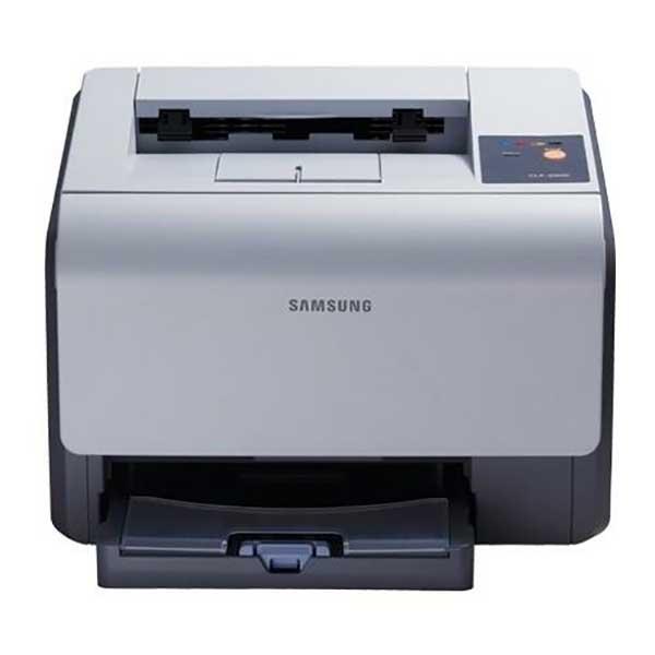 Принтер лазерный б/у Samsung CLP-300 / цветной / сетевой / USB интерфейс