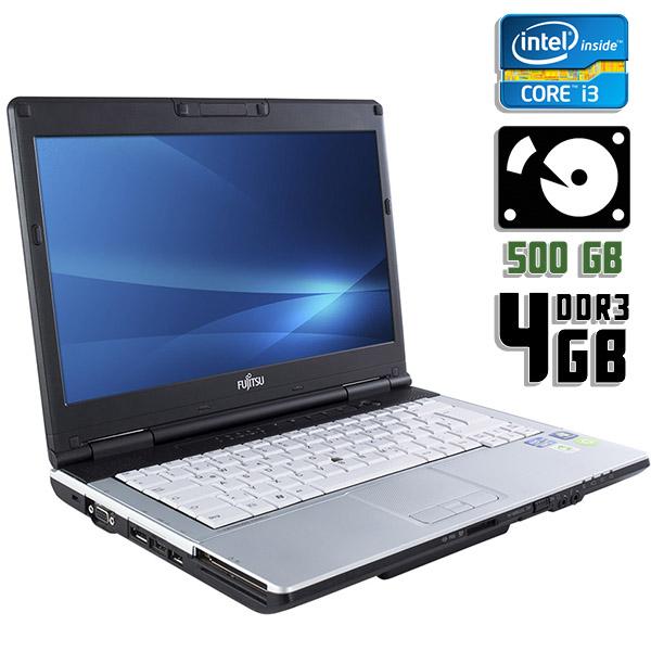 Ноутбук б/у 14.1″ Fujitsu Lifebook S751 - Core i3 2330M / 4Gb ОЗУ DDR3 / 500Gb HDD