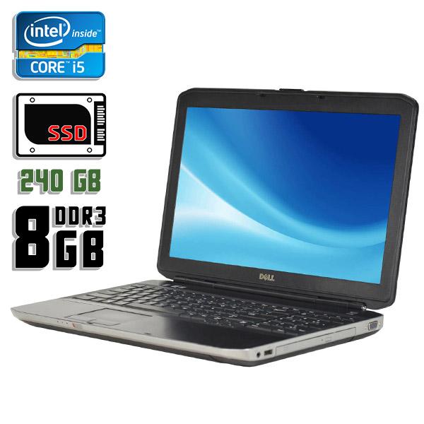 Ноутбук б/у 15,6″ Dell Latitude E5530 - Core i5 3360M / 8Gb ОЗУ DDR3 / 240Gb SSD
