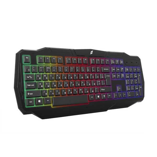 Клавиатура игровая Ergo KB-620 / RGB подсветка / USB интерфейс