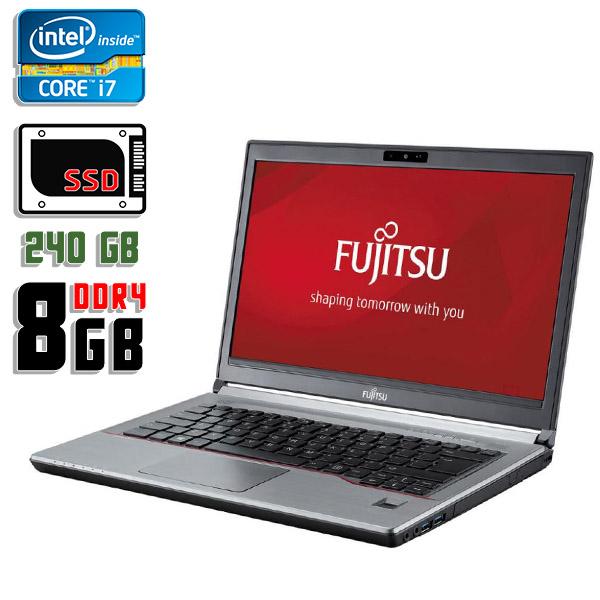 Ноутбук б/у 14,1″ Fujitsu LifeBook E746 - Core i7 6gen / 8Gb ОЗУ DDR4 / SSD 240Gb / камера