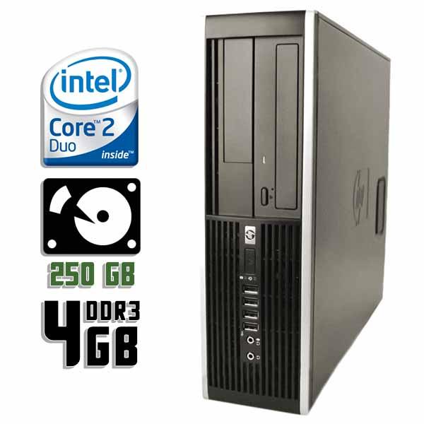 Компьютер б/у HP Compaq 8000 Elite SFF / 2-ядерный / 4Gb ОЗУ DDR3 / 250Gb HDD