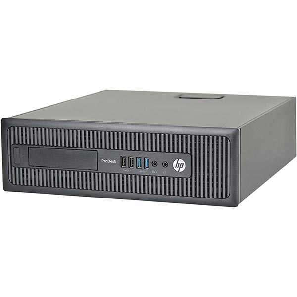 Компьютер б/у HP HP ProDesk 600 G1 SFF / Core i3 4160 / 4Gb ОЗУ DDR3 / 120Gb SSD