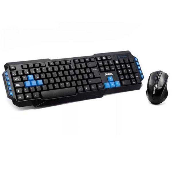 Комплект игровой Jedel WS880 / клавиатура + мышь / беспроводные