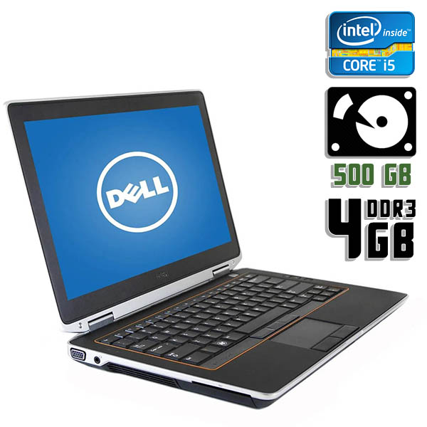Ноутбук б/у 13,3″ Dell E6320 - Core i5 2410M / 4Gb ОЗУ DDR3 / 500Gb HDD