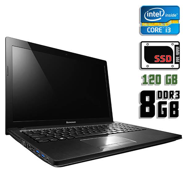 Ноутбук б/у 15,6″ Lenovo G500 - Core i3 3120M / 8Gb ОЗУ DDR3 / 120Gb SSD / Камера