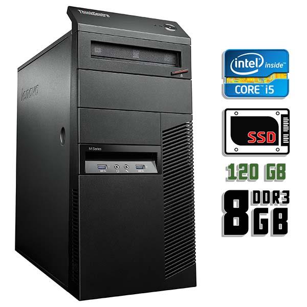 Компьютер б/у Lenovo ThinkCentre M93p - Core i5 4570 / 8Gb ОЗУ DDR3 / SDD 120Gb