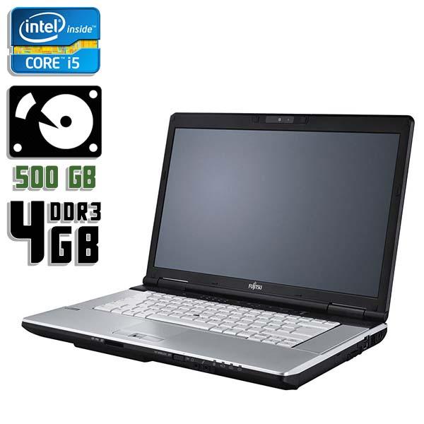 Ноутбук б/у 15,6″ Fujitsu LifeBook E751 - Core i5 2Gen / 4Gb ОЗУ DDR3 / HDD 500Gb / камера