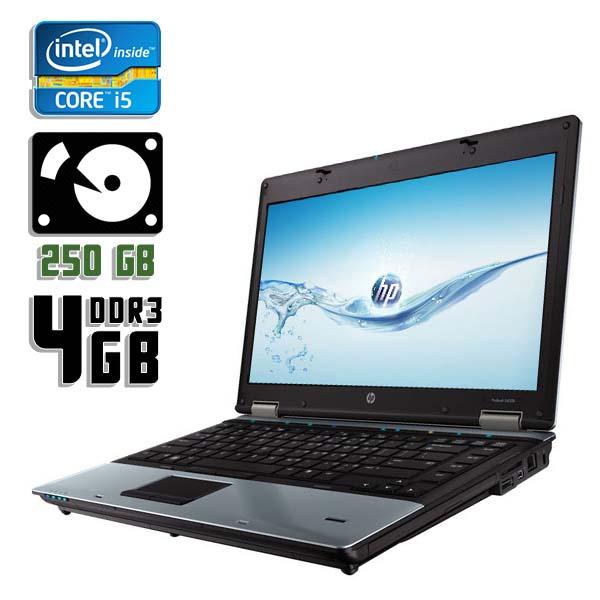 Ноутбук б/у 14,1″ HP ProBook 6450b / Core i5 450M / 4Gb ОЗУ DDR3 / HDD 250Gb