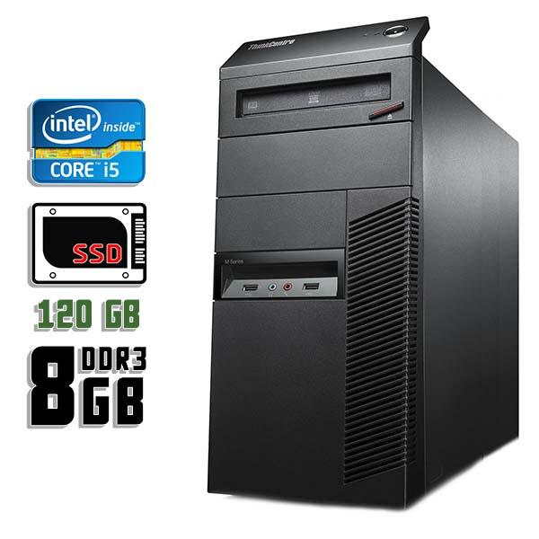 Компьютер б/у Lenovo ThinkCentre M92p - Core i5 3550 / 8Gb ОЗУ DDR3 / SDD 120Gb