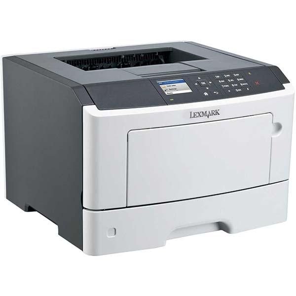 Принтер лазерный черно-белый б/у Lexmark MS510DN, Сетевой, Дуплекс