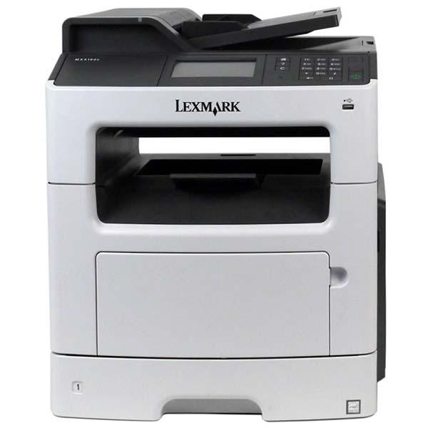 Лазерный черно-белый МФУ б/у Lexmark MX410de