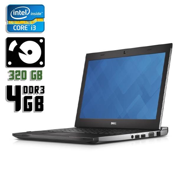 Ноутбук б/у 13,3″ Dell 3330 - Core i3 3210M / 4Gb ОЗУ DDR3 / 320Gb HDD / камера