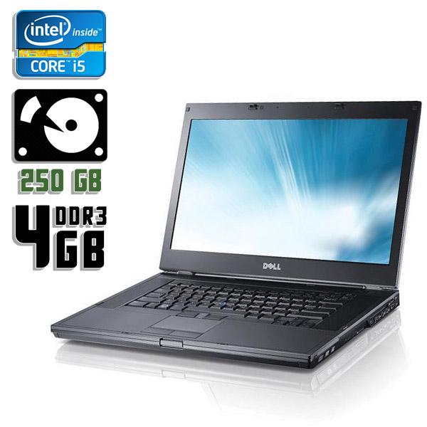 Ноутбук б/у 15,6″ Dell Latitude E6510 - Core i5 1Gen / 4Gb ОЗУ DDR3 / HDD 250Gb