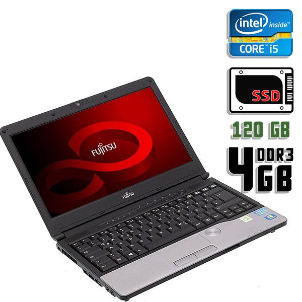 Ноутбук б/у 13.3″ Fujitsu Lifebook S792 - Core i5 3Gen / 4Gb ОЗУ DDR3 / 120Gb SSD / камера
