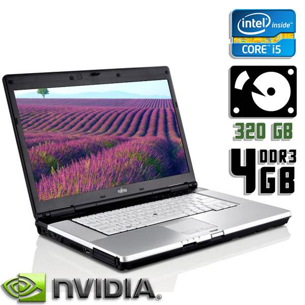 Ноутбук б/у 15,6″ Fujitsu Lifebook E780 - Core i5 1Gen / 4Gb ОЗУ DDR3 / HDD 320Gb / камера