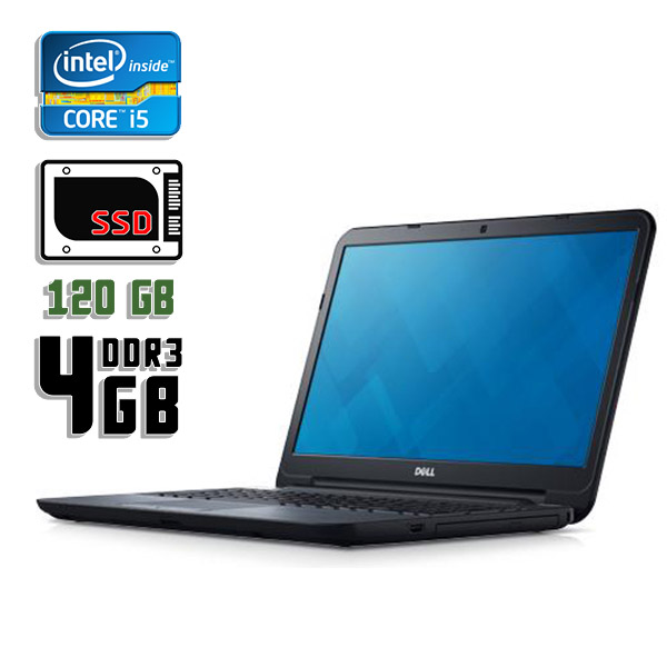 Ноутбук б/у 15,6″ Dell Latitude 3540 - Core i5 4Gen / 4Gb ОЗУ DDR3 / SSD 120Gb / камера