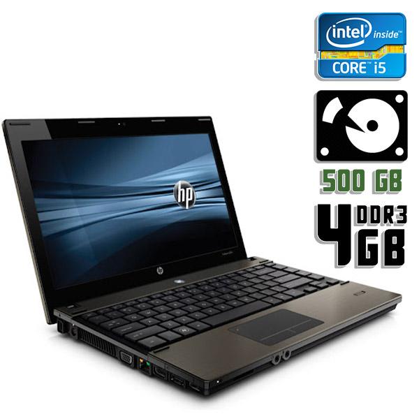 Ноутбук б/у 17.3″ HP Probook 4720S - Core i5 1Gen / 4Gb ОЗУ DDR3 / HDD 500Gb / камера