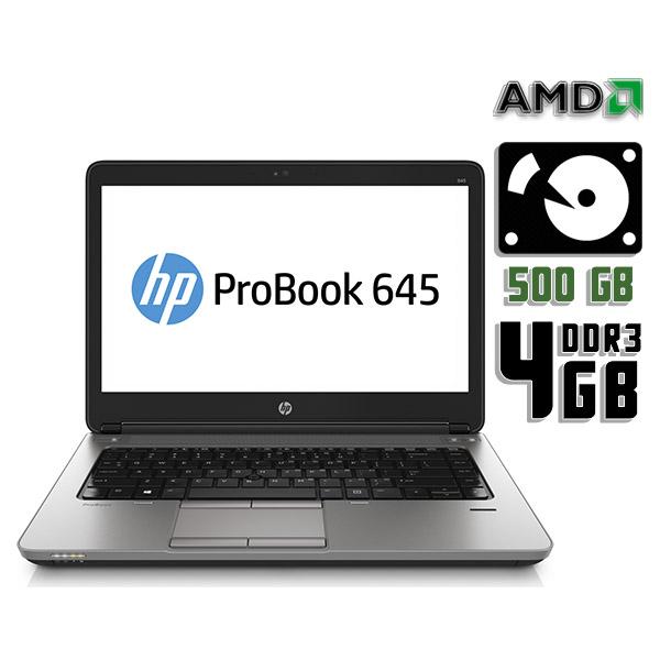 Ноутбук б/у 14″ HP Probook 645 G1 (MT41) / 2 ядерный / 4Gb ОЗУ DDR3 / HDD 500Gb