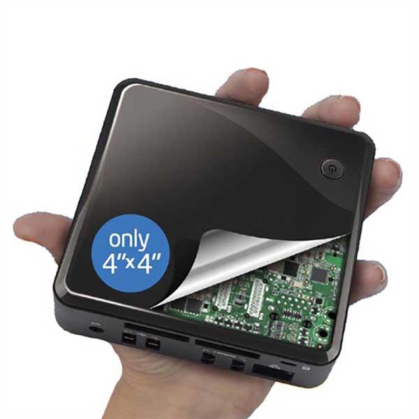 Мини-компьютер б/у Intel NUC DC32171YE Nettop / Core i3 3Gen / 4Gb ОЗУ DDR3 / SSD 64Gb
