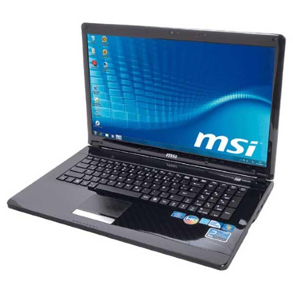 Ноутбук б/у 17.3″ MSI CR720 - Core i3 1Gen / 4Gb ОЗУ DDR3 / HDD 500Gb / камера