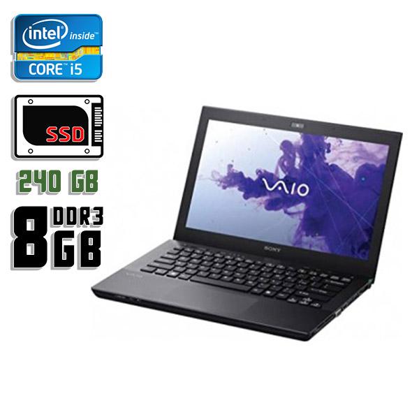 Ноутбук б/у 13,3″ Sony Vaio SVS1311F3EW - Core i5 3Gen / 8Gb ОЗУ DDR3 / SSD 240Gb / камера