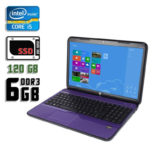 Ноутбук б/у 15,6″ HP Pavillion G6 - Core 5 3gen / 6Gb ОЗУ DDR3 / 120Gb SSD / Камера