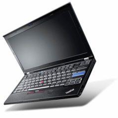 Ноутбук б/у 12,5″ Lenovo ThinkPad X220 / IPS матрица / Core i5 2Gen / 4Gb ОЗУ DDR3 / HDD 500Gb / камера